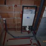 Stelaż Wc i instalacja wod-kan